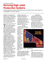 Reviving High-yield Production Systems