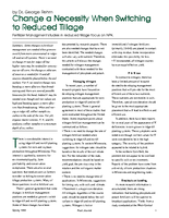 Change a Necessity When Switching to Reduced Tillage