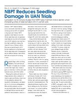 NBPT Reduces Seedling Damage In UAN Trials
