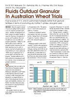 Fluids Outdual Granular In Australian Wheat Trials