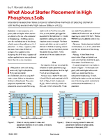 What About Starter Placement in High Phosphorus Soils