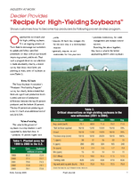 "Dealer Provides ""Recipe For High-Yielding Soybeans"""