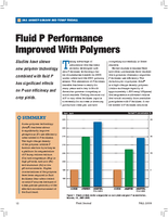 Fluid P Performance Improved With Polymers