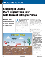 Stopping N Losses More Urgent Than Ever With Current Nitrogen Prices