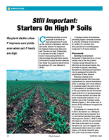 Still Important: Starters On High P Soils