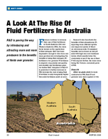 A Look At The Rise Of Fluid Fertilizers In Australia