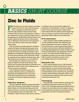 Zinc in Fluids