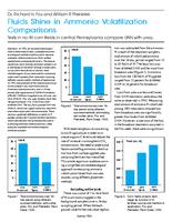 Fluids Shine in Ammonia Volatilization Comparisons