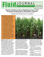 Starter Fertilizers Show Significant Corn Yield Increases Compared to No-Starter Checks