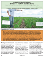 Continuous Corn Yields Enhanced via NPS Combinations