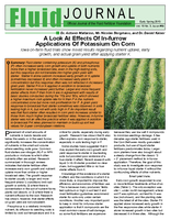A Look at Effects of In-Furrow Applications of Potassium on Corn