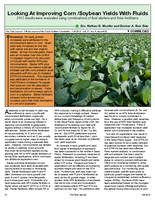 Looking At Improving Corn /Soybean Yields With Fluids