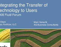 Integrating the Transfer of Technology to Users