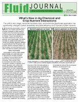 Whats New in Ag Chemical and Crop Nutrient Interactions