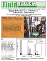 Copper Diffusion Superior with Fluids in Acidic and Alkaline Soils