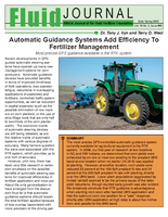 Automatic Guidance Systems Add Efficiency To Fertilizer Management
