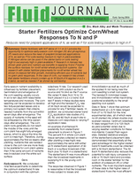 Starter Fertilizers Optimize Corn/Wheat Responses To N and P