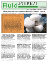 Phosphorus Applications Benefit Cotton Yields