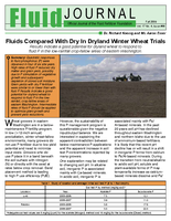 Fluids Compared With Dry In Dryland Winter Wheat Trials