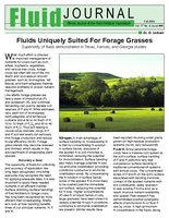 Fluids Uniquely Suited For Forage Grasses