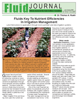 Fluids Key To Nutrient Efficiencies In Irrigation Management