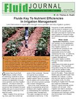 Fluids Key To Nutrient Efficiencies In Irrigation Management