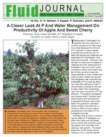 A Closer Look At P And Water Management On Productivity Of Apple And Sweet Cherry