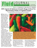 NPK Inputs At Optimum Growth Stage Critical For Maximizing Yields In Irrigated Chilies