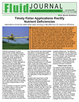 Timely Foliar Applications Rectify Nutrient Deficiencies
