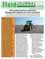 GPS-guided Systems Open New Management Options For Corn Producers