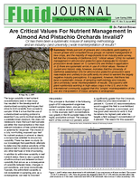 Are Critical Values For Nutrient Management In Almond And Pistachio Orchards Invalid?