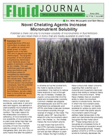 Novel Chelating Agents Increase Micronutrient Solubility