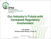 Our Industry's Future with Increased Regulatory Involvement