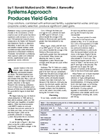 Systems Approach Produces Yield Gains