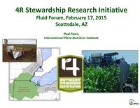 4R Stewardship Research Initiative