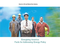 Energizing America  Facts for Addressing Energy Policy