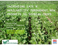 Increasing Late N Availability Throughout New Products To Soybean Crops