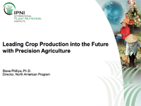 Leading Crop Production into the Future with Precision Agriculture