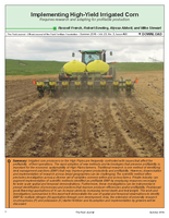 Implementing High-Yield Irrigated Corn