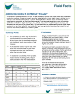 Achieving 300 Bu Corn Sustainably