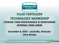 Storage Tank Maintenance & Monitoring