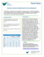 Foliar K Applications Safe With Glyphosate