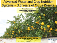 Advanced Water and Nutrition Systems