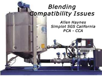 Blending Compatibility Issues