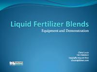 Bench Testing Fluid Mixes