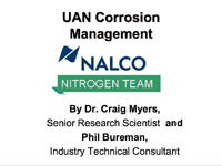 UAN Corrosion Management