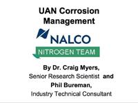 UAN Corrosion Management