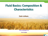 Fluid Basics: Composition & Characteristics