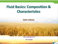 Fluid Basics: Composition & Characteristics