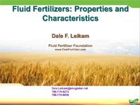 Fluid Fertilizer Basics
